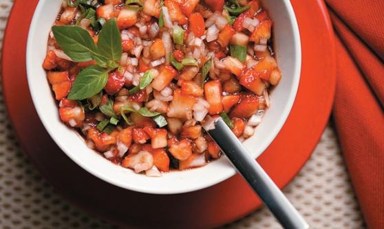 receita-vinagrete-morango